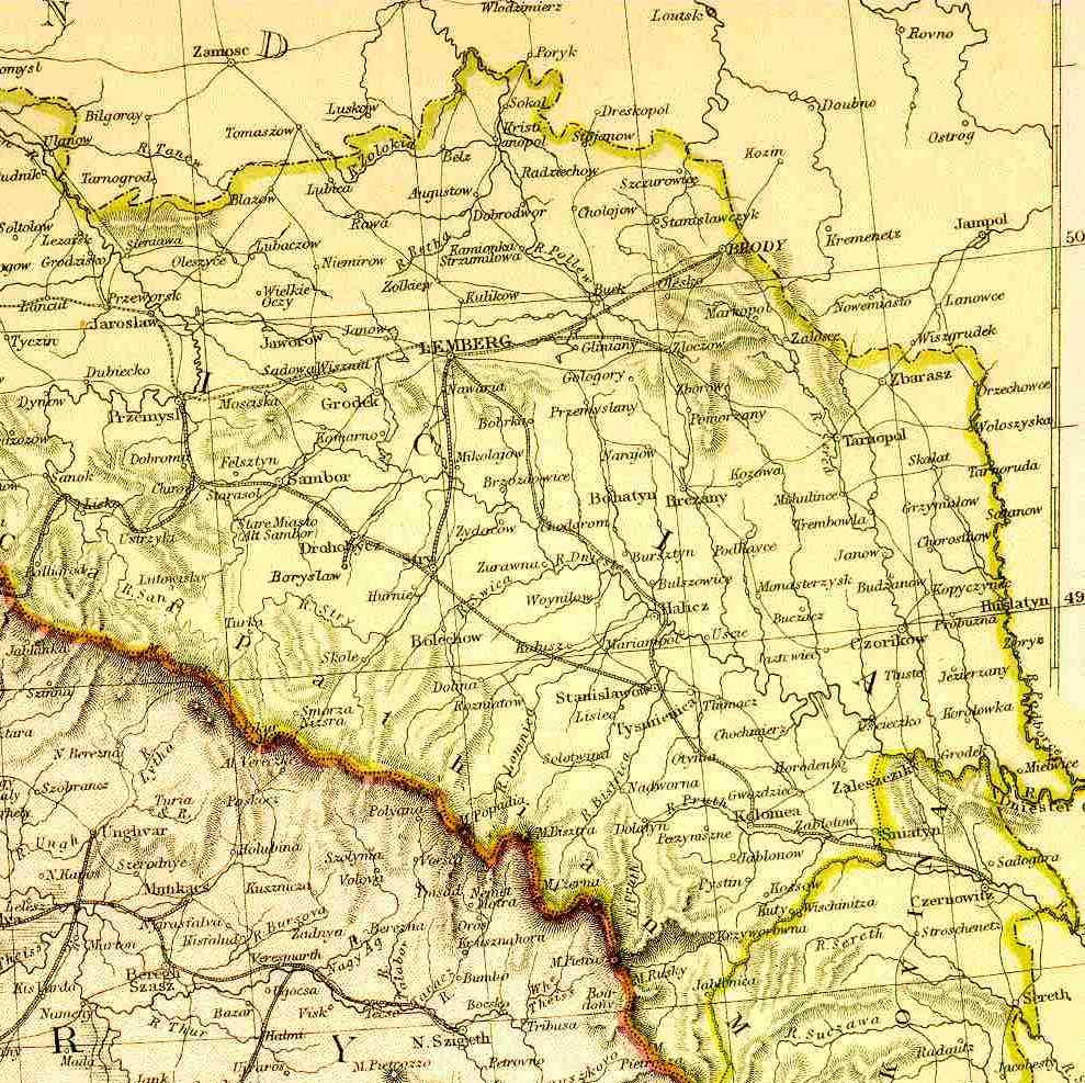 Halychyna Galicia Gacsorszag Galizien Galicja Homeland Page