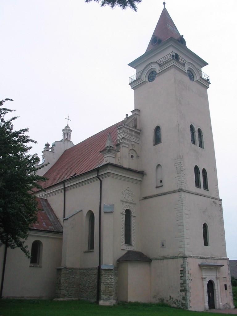 Nicholas Roman Catholic Church in Rohatyn